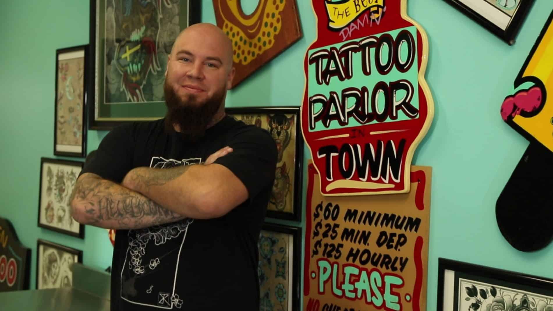 Jake Ogden Tattoo Artist